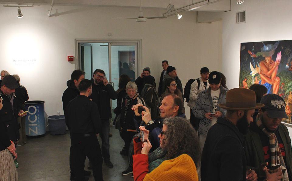 C'era anche Martha Cooper all' opening della mostra personale degli Interesni Kazki