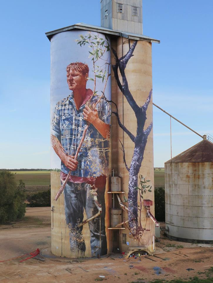 The Cycle, Portrait of a local farmer - Australia